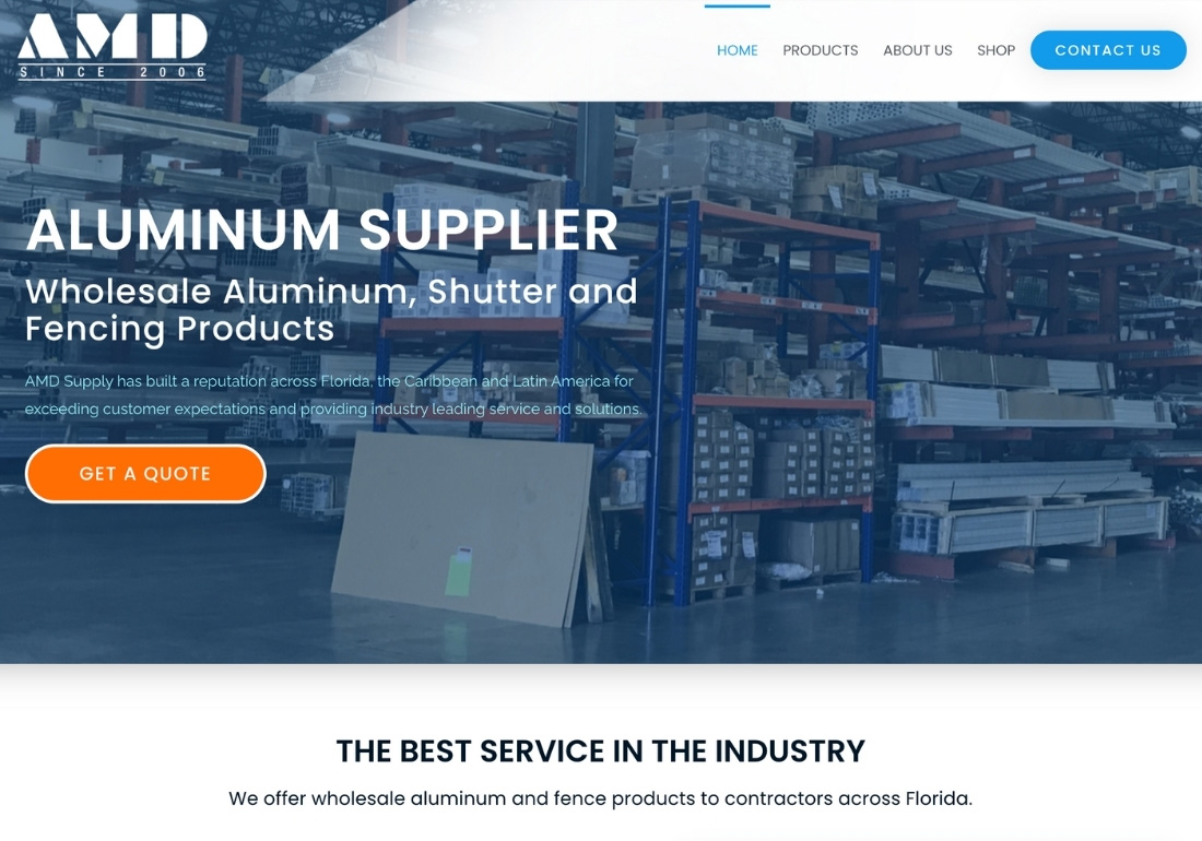 Wholesale Aluminum - AMD Supply