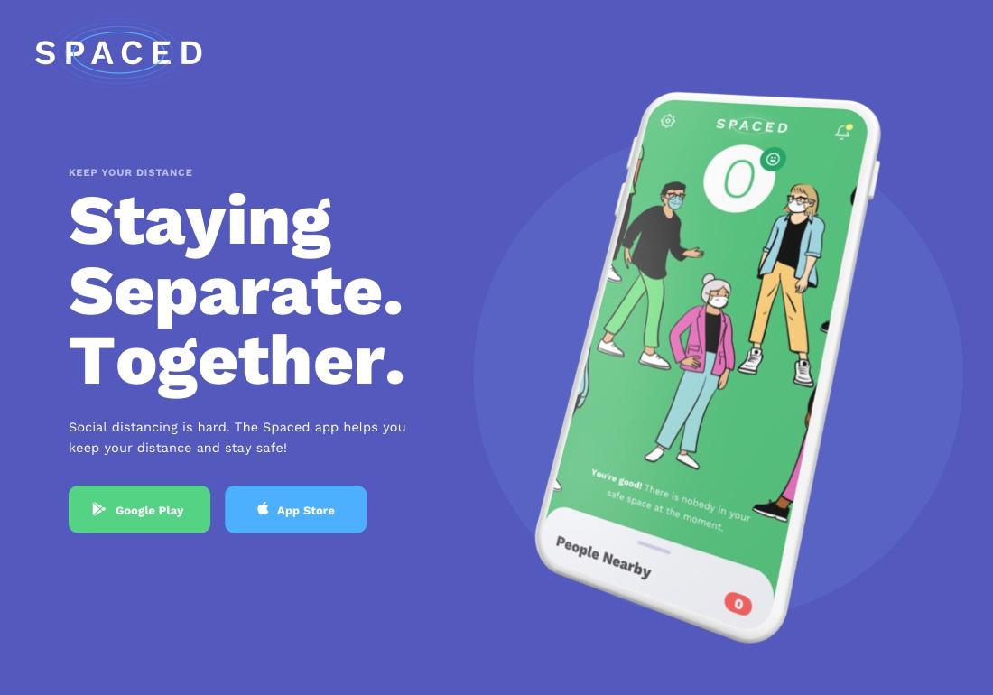 SPACED   Social Distancing App
