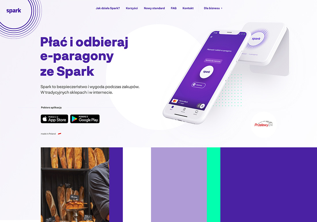 Spark - Pay & receive e-receipt