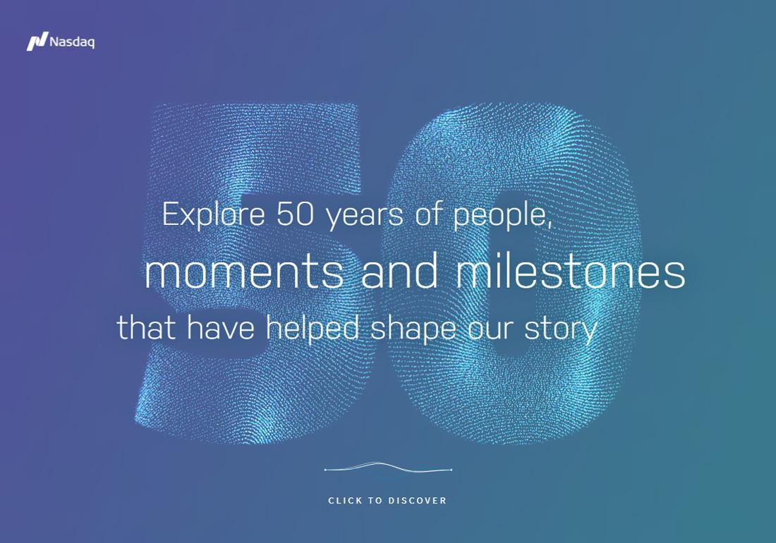 Nasdaq 50th anniversary