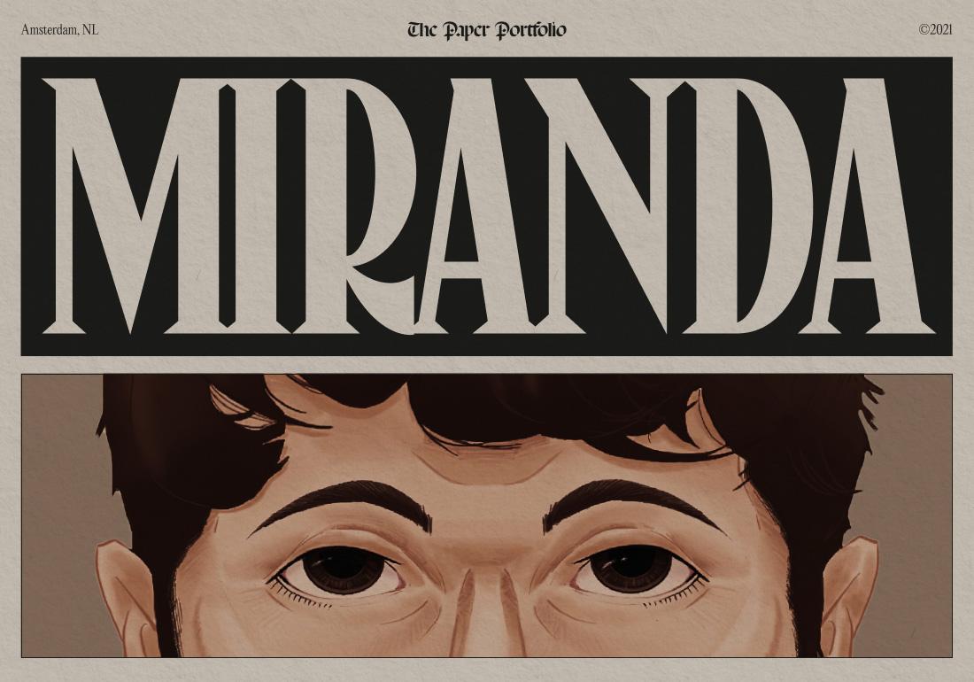 Miranda – Paper Portfolio