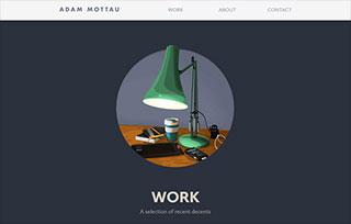 Adam Mottau - Web Designer