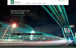 Corporate Website INDUSTRA group