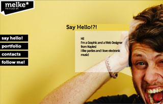 Melke Graphic and Web Designer
