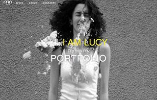 lucy babayan - portfolio website