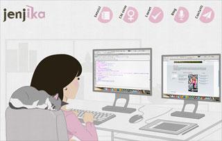 jenjika web designer
