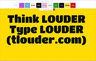 Think LOUDER (tlouder.com)