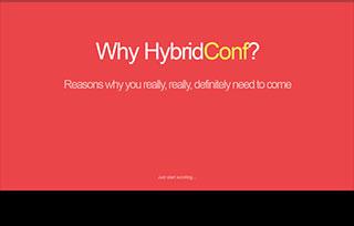 Why HybridConf?