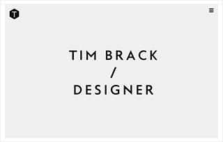 Tim Brack, Designer