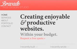 Bravado Web Design