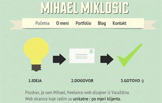 Mihael Miklosic portfolio