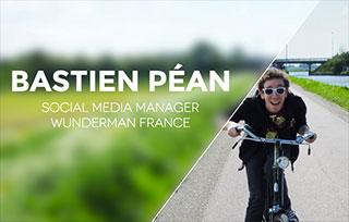 Bastien Péan • Social Media Manager