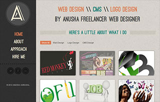 Web Designer Anusha