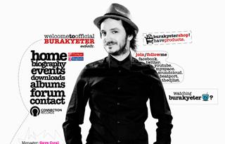 Burak Yeter Official Website