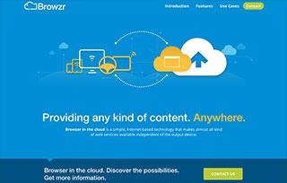 Browzr – Browser in the Cloud