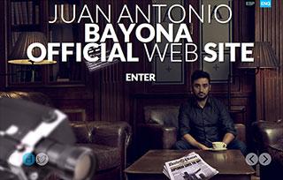 Juan Antonio Bayona Website