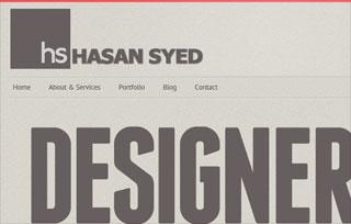 Hasan Syed | Designer & Developer