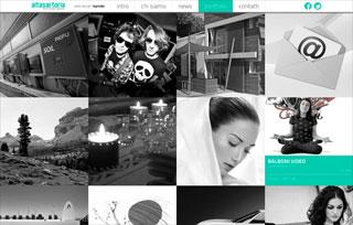 Alta Sartoria web design agency