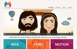 Design Portfolio of Merve Ayomak
