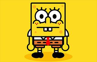 SpongeBob Pure CSS3