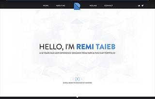 Rémi TAIEB Portfolio