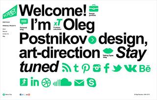 Oleg Postnikov's portfolio
