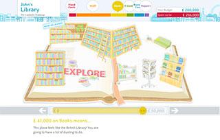 Lambeth Library Challenge