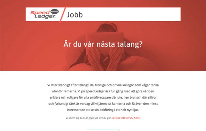 SpeedLedger Career