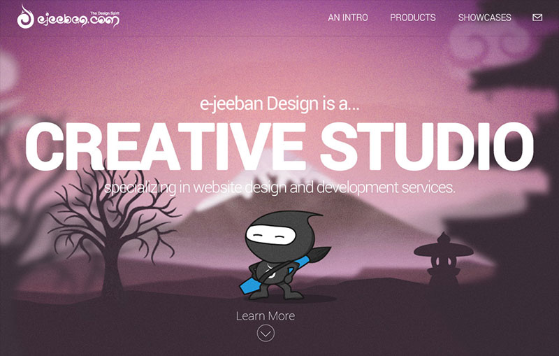 eJeeban Design Studio Website