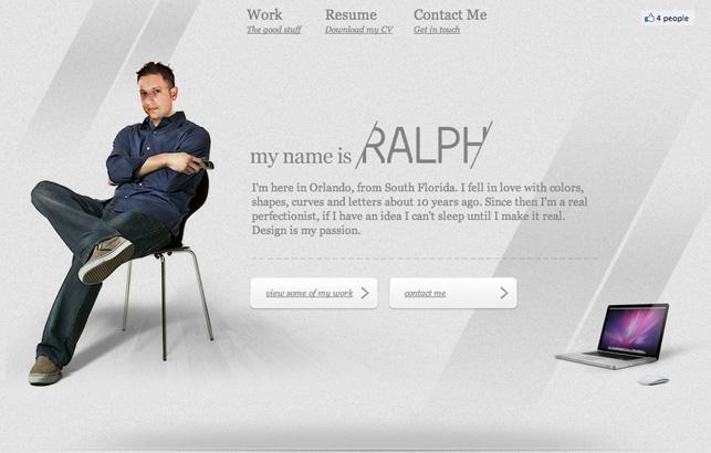 Portfolio of Ralph Millard