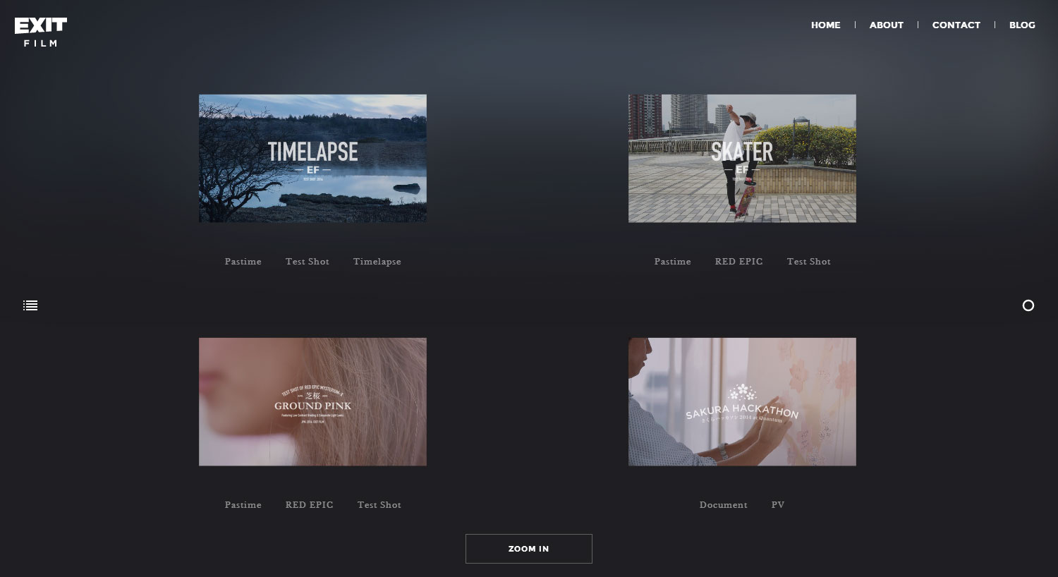 EXIT FILM - Website of the Day