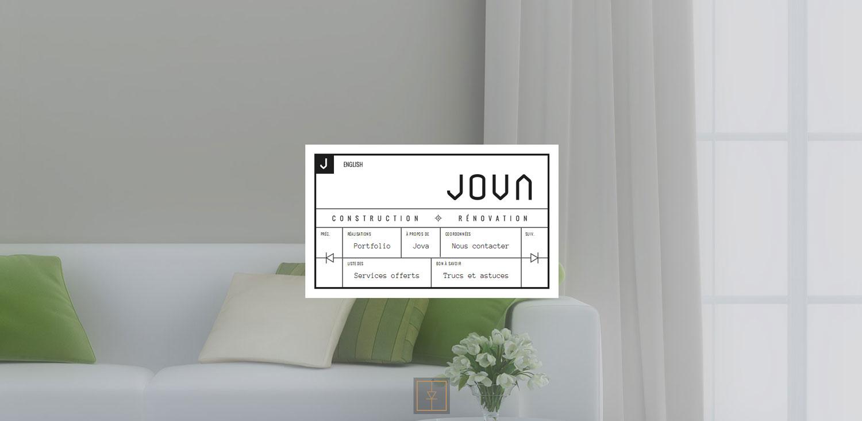 Jova Construction - Website of the Day