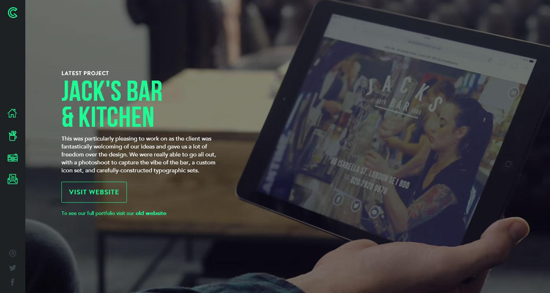 Green Chameleon - Website of the Day