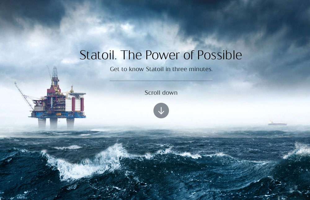 Statoil. The Power of Possible