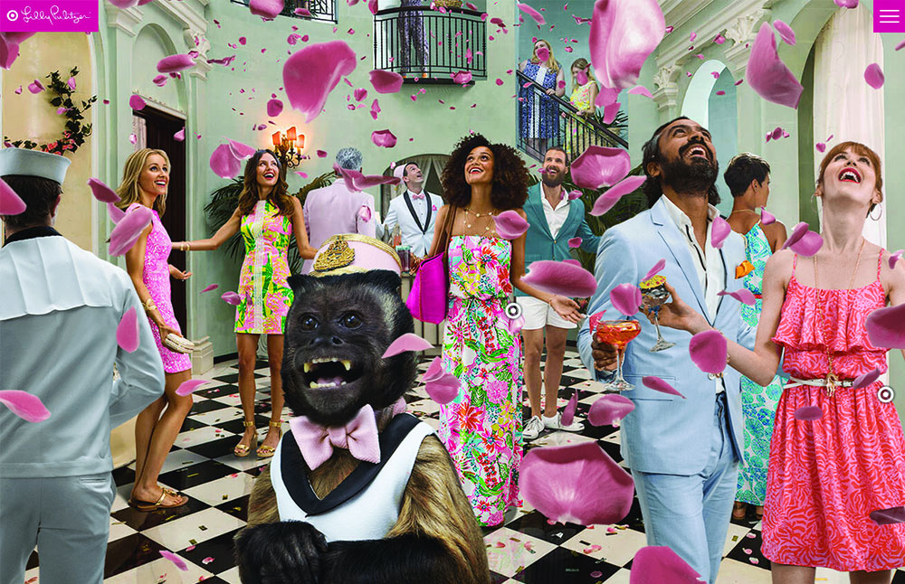 Lilly Pulitzer for Target Immersive