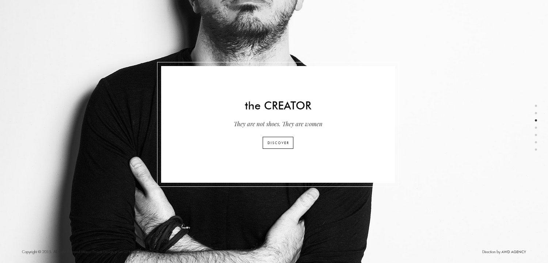 Marco Proietti Design - Website of the Day