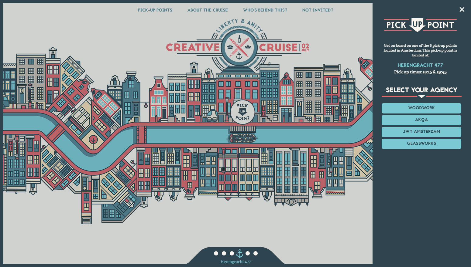 Creative Cruise - Website of the Day