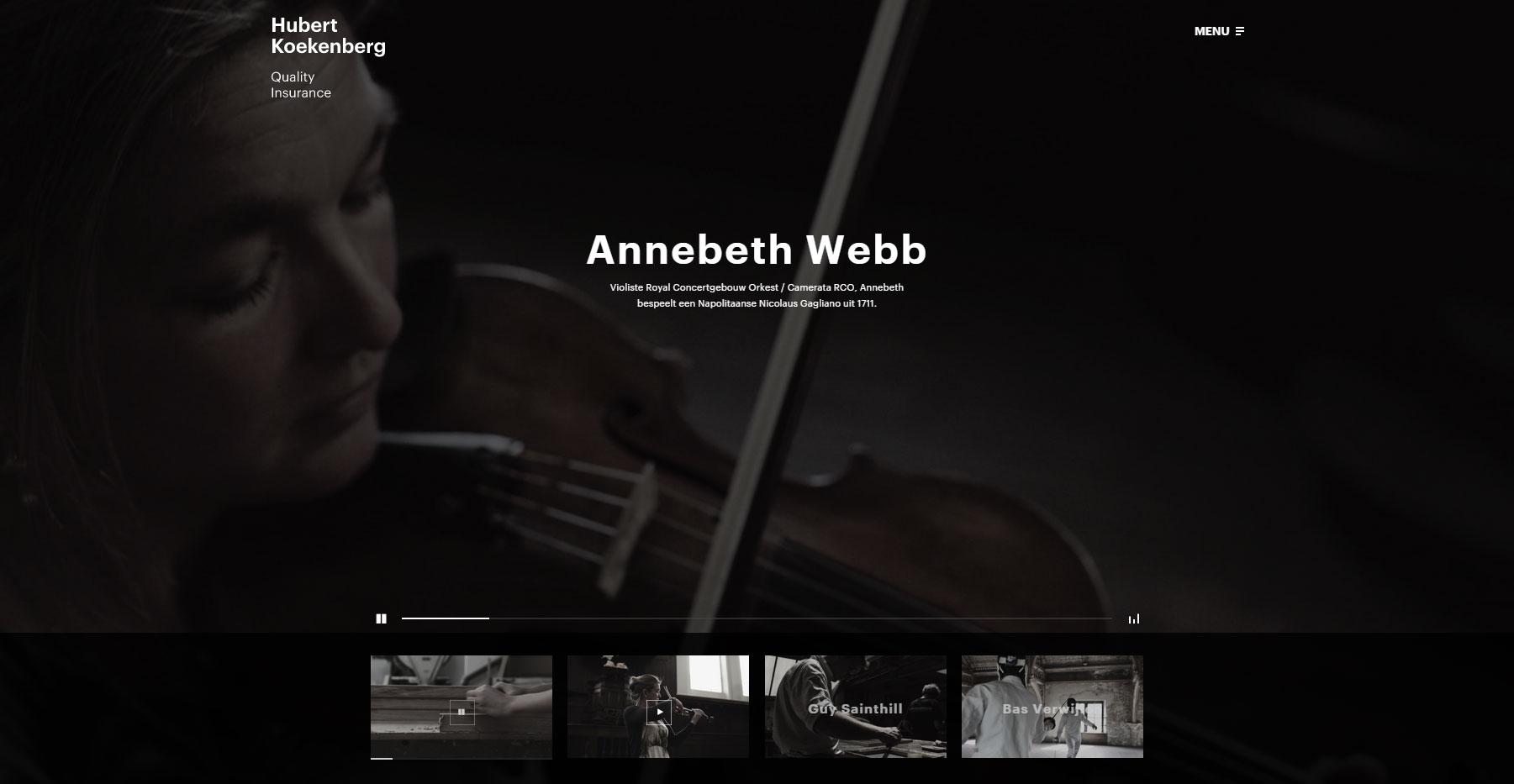 Hubert Koekenberg - Website of the Day