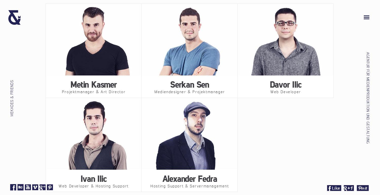 Mekades & Friends - Website of the Day