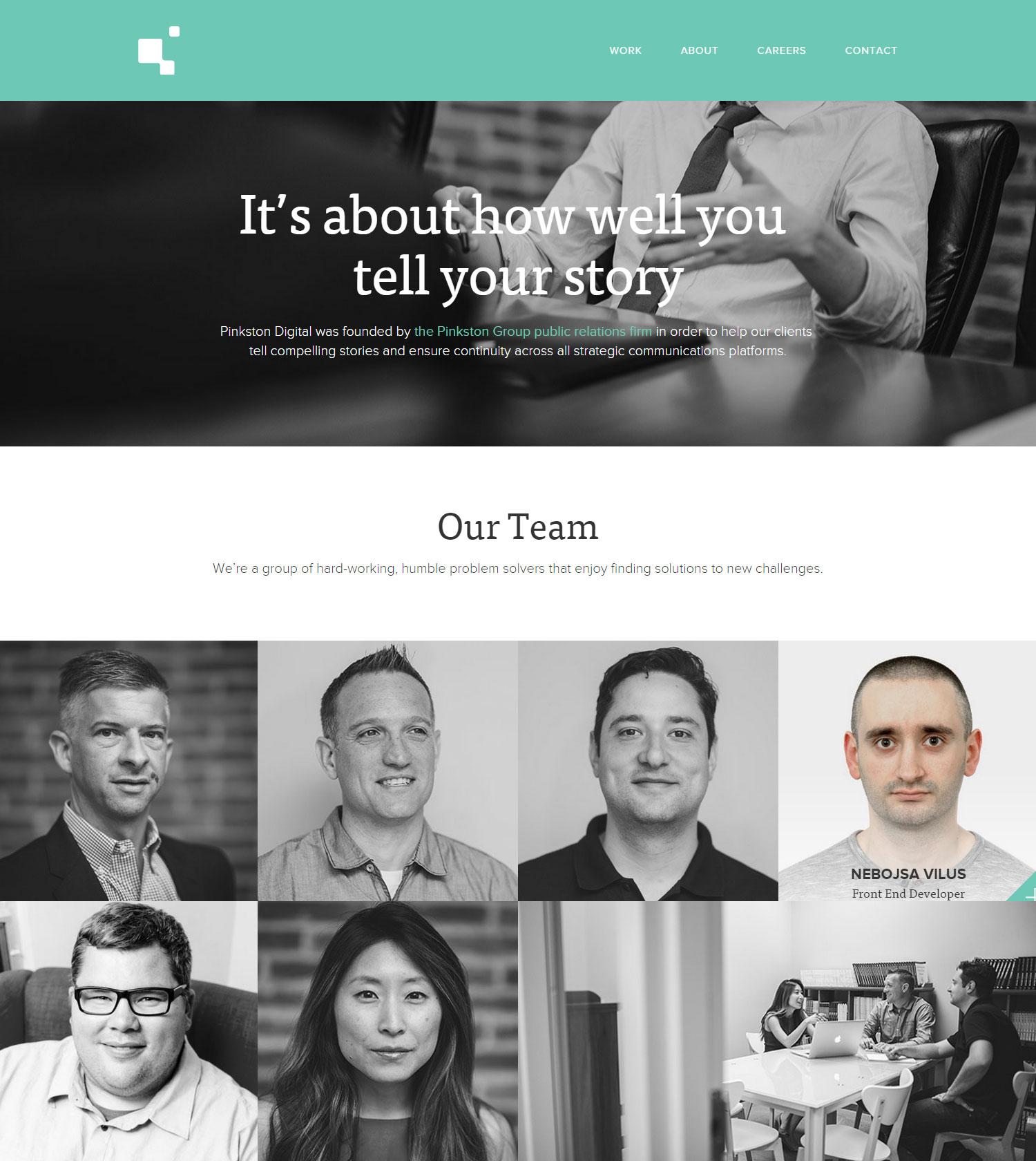 Pinkston Digital - Website of the Day
