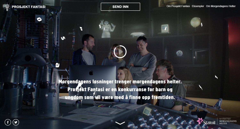 Prosjekt fantasi - Website of the Day