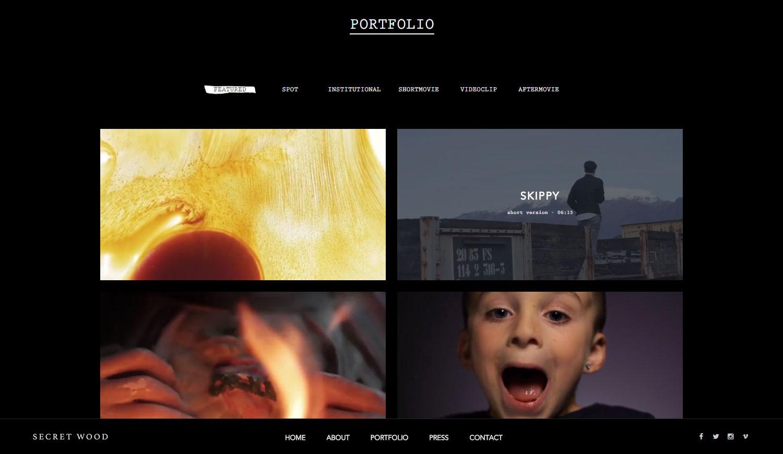 Secret Wood | Filmmakers - Website of the Day
