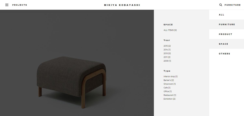MIKIYA KOBAYASHI - Website of the Day