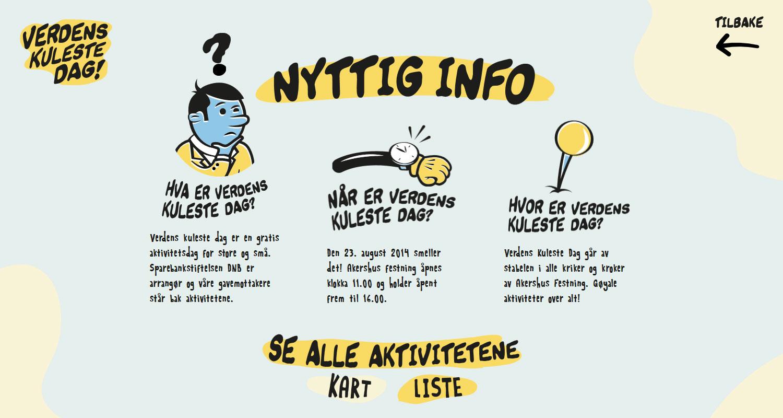 Verdenskulestedag - Website of the Day