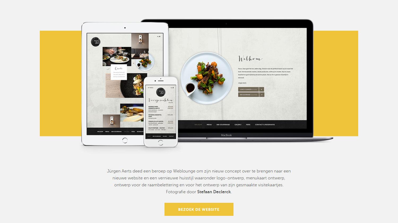 Webdesign Agency Weblounge - Website of the Day