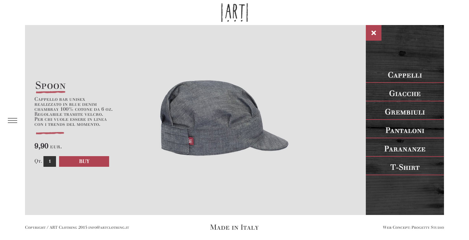 ART work clothing - Website of the Day