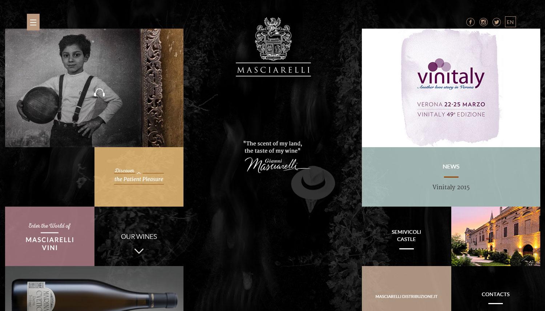 Masciarelli - Website of the Day