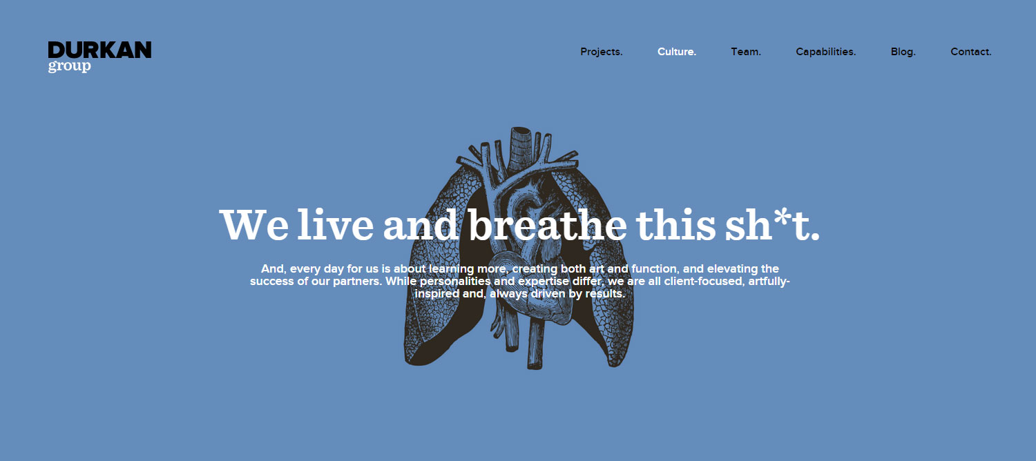 The Durkan Group - Website of the Day