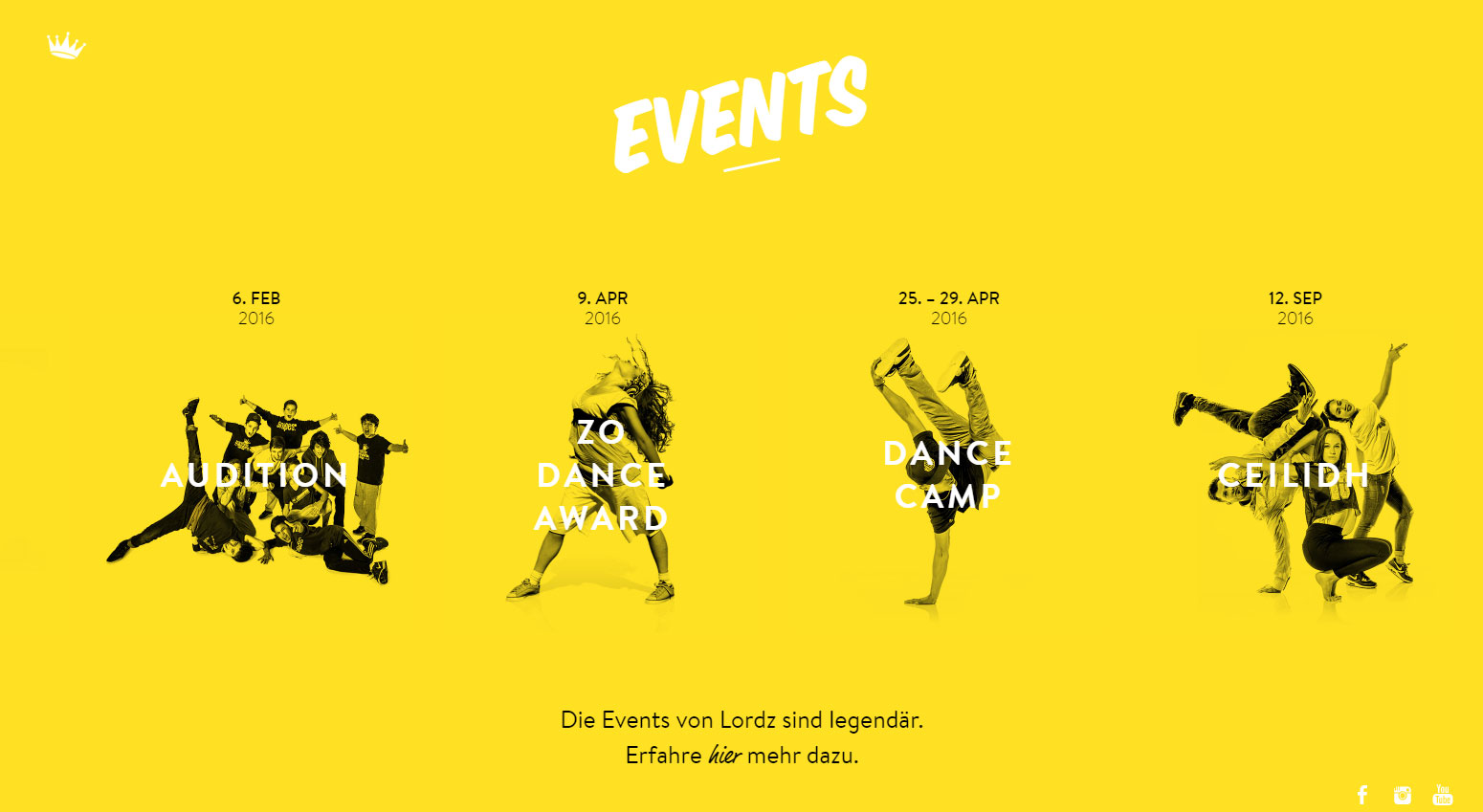 Lordz Dance Academy - Website of the Day