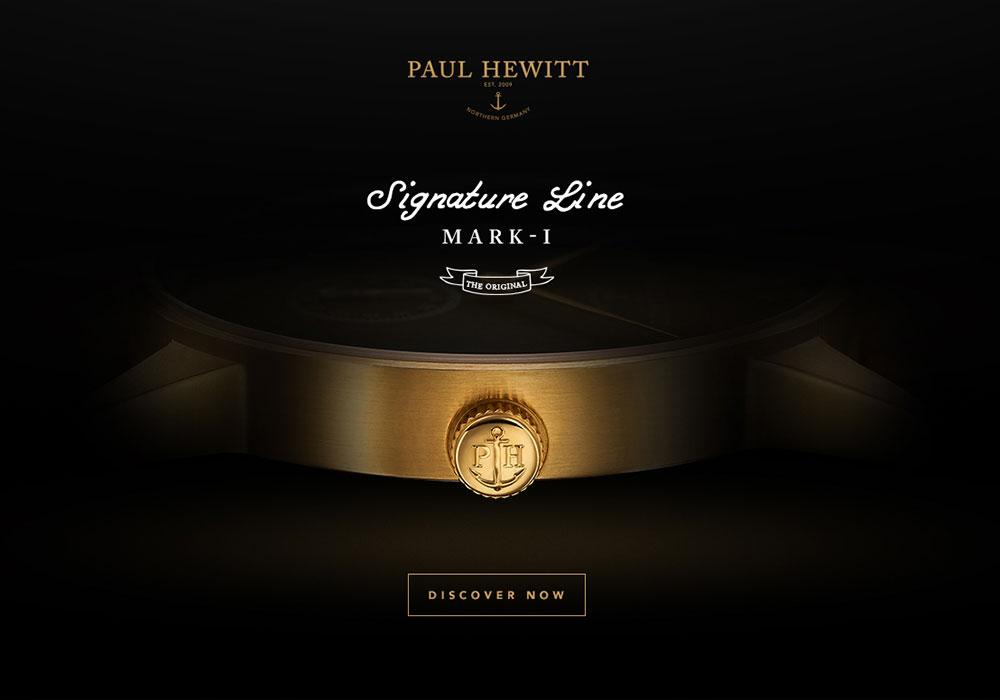 Signature Line - PAUL HEWITT